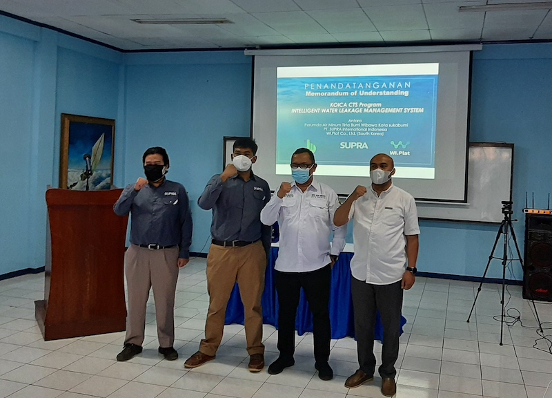 Intelligent Water Leakage Management System - Indonesia - South Korea - Pilot Project Cooperation - 5